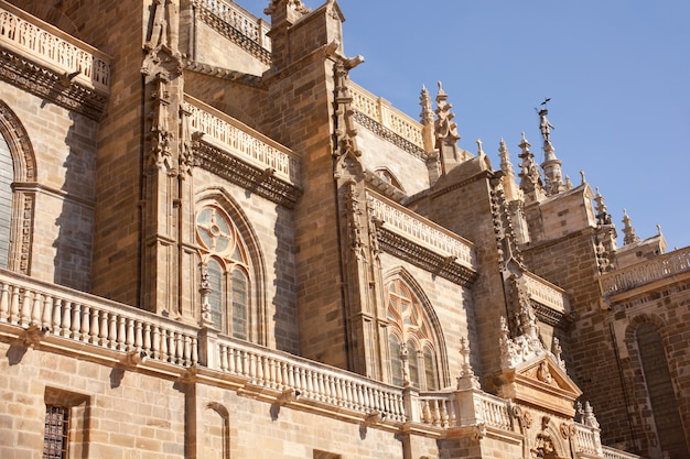 La cathédrale d'astorga, en espagne