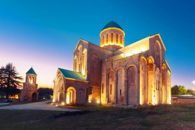 La cathédrale de bagrati à kutaisi, imereti, géorgie