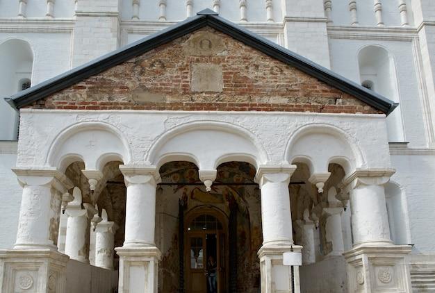 Cathédrale de la dormition .kremlin de l'ancienne ville de rostov veliky.russie