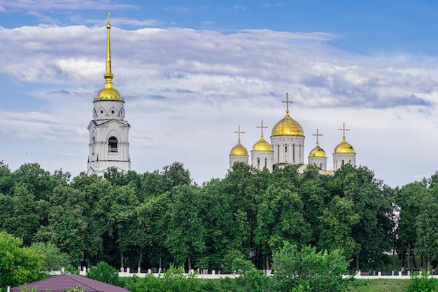 Cathédrale de la dormition, vladimir, russie