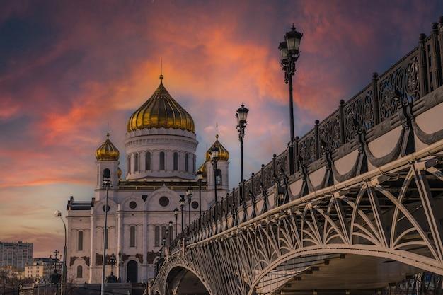 Cathédrale du christ sauveur à moscou russie