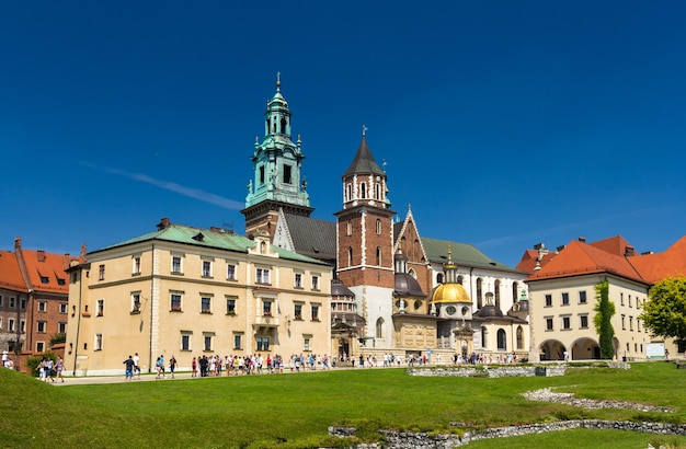 Cathédrale du wawel à cracovie