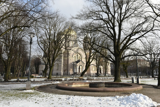 Cathédrale de l'église de la nativité du christ riga lettonie