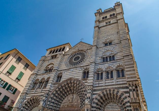 Cathédrale de gênes en italie