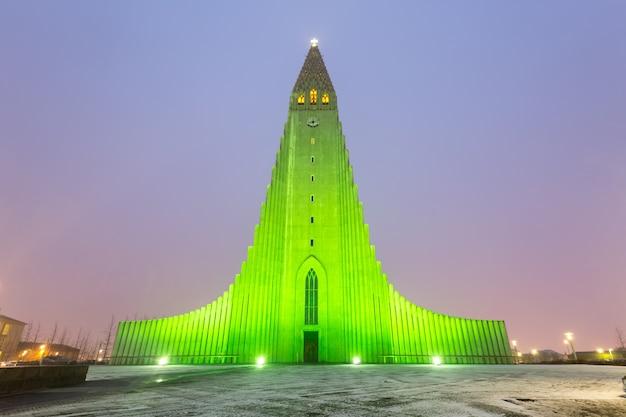 Cathédrale hallgrimskirkja reykjavik islande