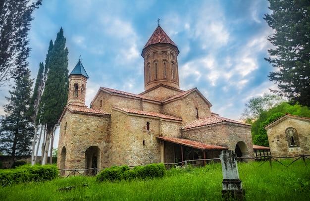 Cathédrale d'ikalto en géorgie