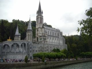 Cathédrale de lourdes (france)