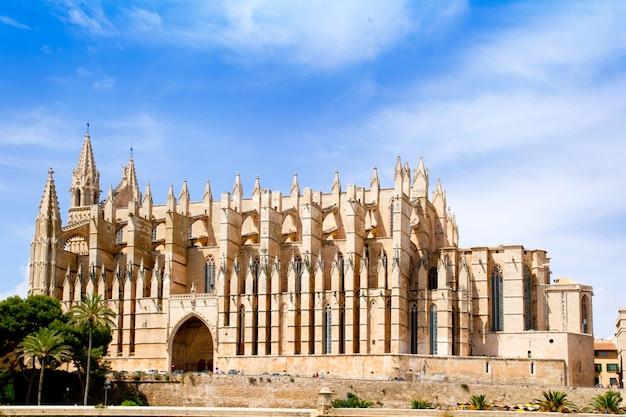 Cathédrale de majorque la seu de palma de majorque