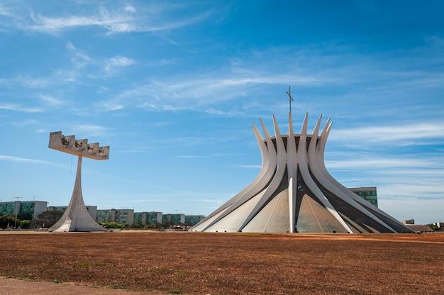Cathédrale métropolitaine brasilia df brésil le 14 août 2008 par oscar niemeyer