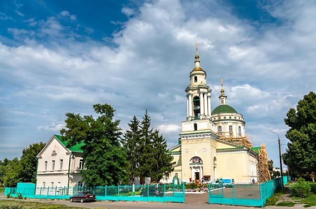 Cathédrale de michael l'archange dans la ville d'orel fédération de russie