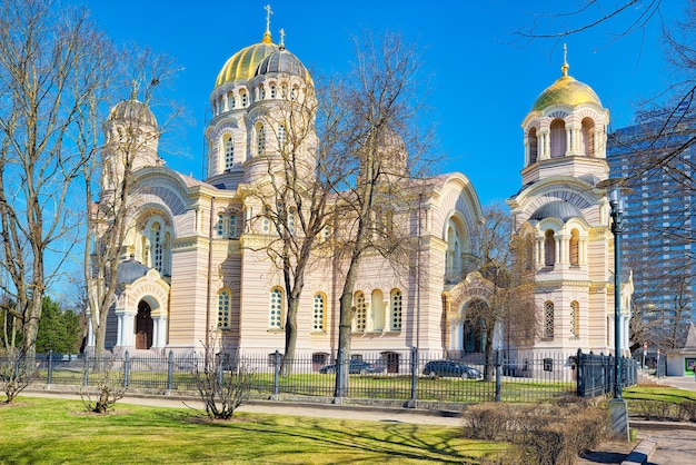 Cathédrale de la nativité du christ à riga
