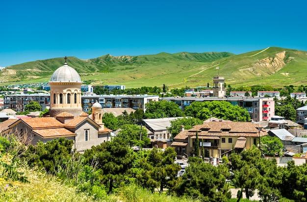 La cathédrale de la nativité de marie à gori, géorgie
