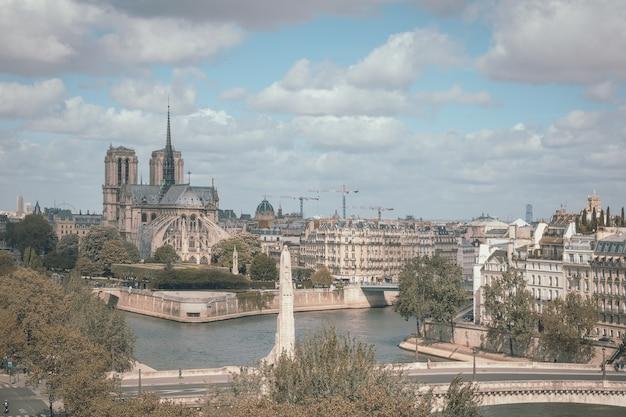 La cathédrale de notre dame de paris, france
