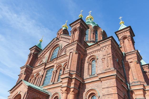 Cathédrale orthodoxe à helsinki
