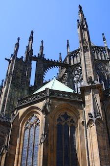 Cathédrale saint-guy, prague, photo de voyage