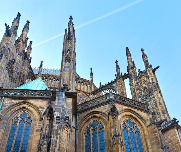 Cathédrale saint-guy de prague (république tchèque), le choeur est du parler