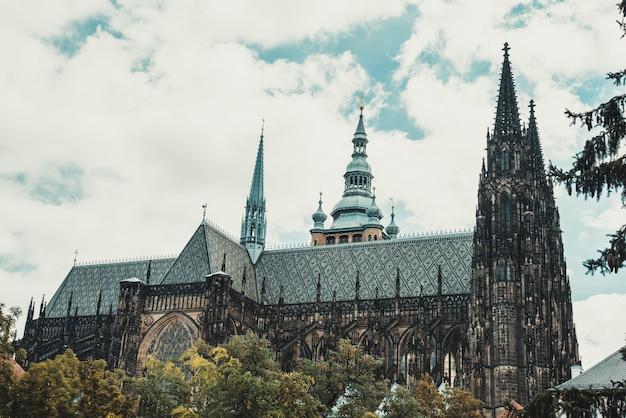Cathédrale saint-guy de prague, république tchèque