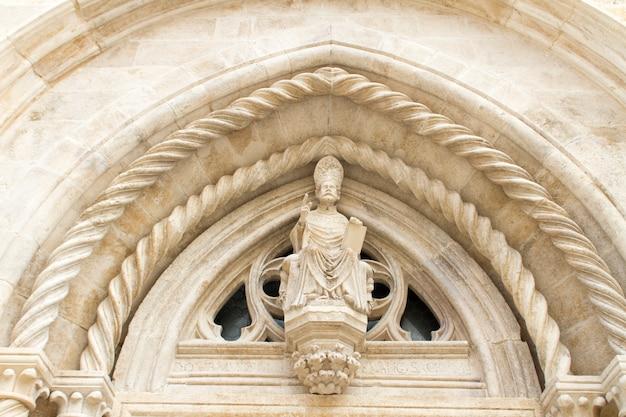 Cathédrale saint-marc à korcula