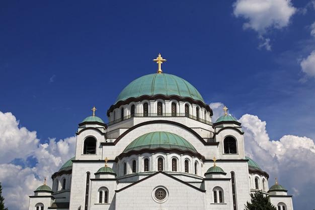 Cathédrale saint-sava, belgrade, serbie