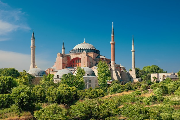 Cathédrale sainte-sophie, istanbul, turquie