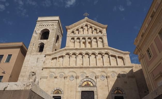 La cathédrale santa maria de cagliari