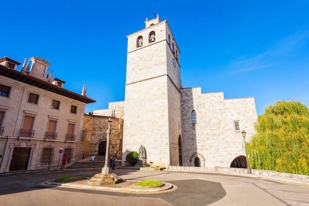 Cathédrale de santander ou basilique cathédrale de l'assomption de la vierge marie de santander, située dans la ville de santander, région de cantabrie en espagne