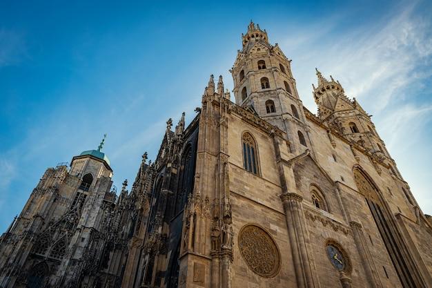 Cathédrale st stephen - principale église autrichienne située dans le centre-ville de vienne