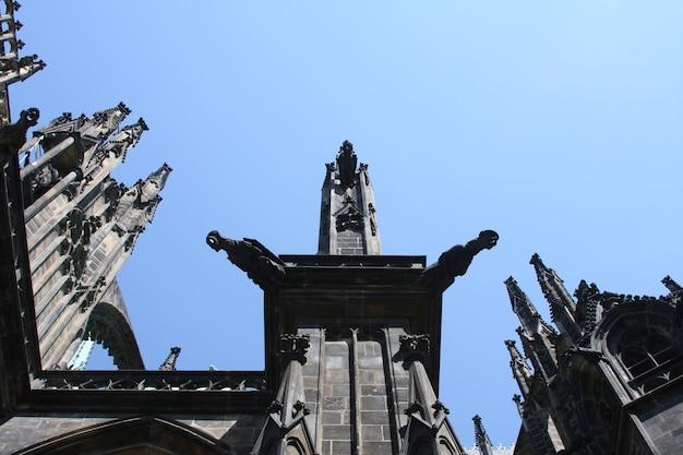 Cathédrale st vita à prague, république tchèque