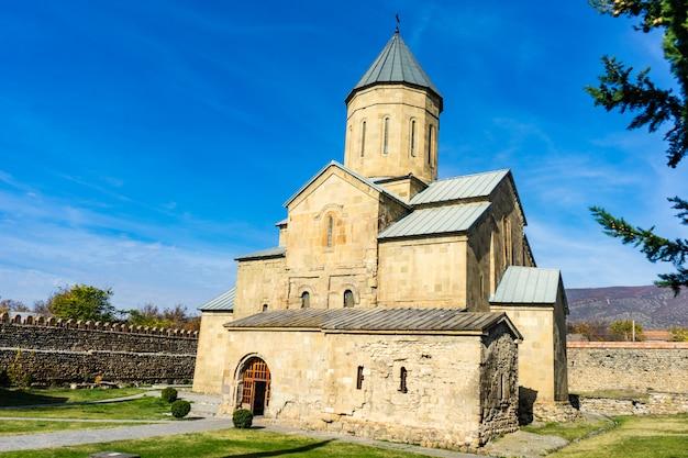 Cathédrale tsilkani, mère de dieu, géorgie