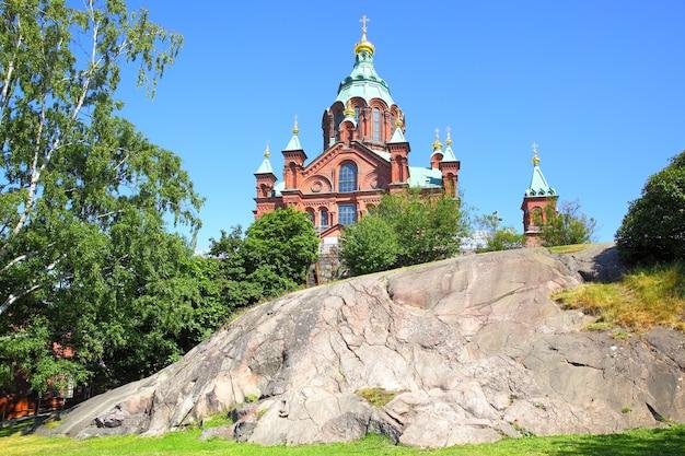 Cathédrale uspensky à helsinki, finlande