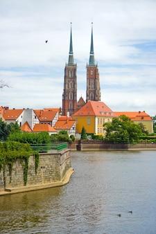 La cathédrale de wroclaw