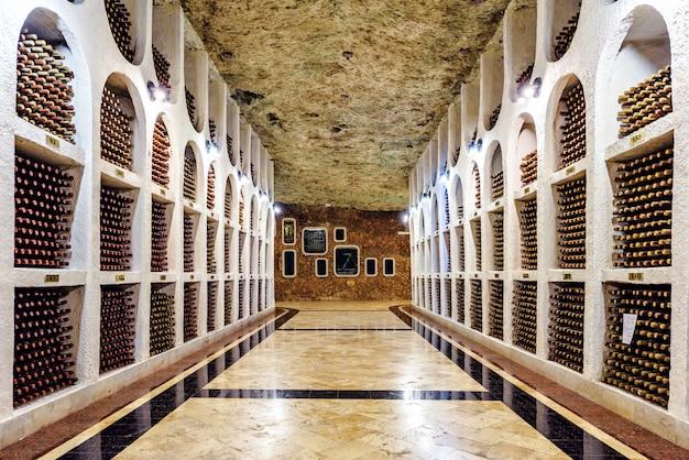 Cave à vin souterraine