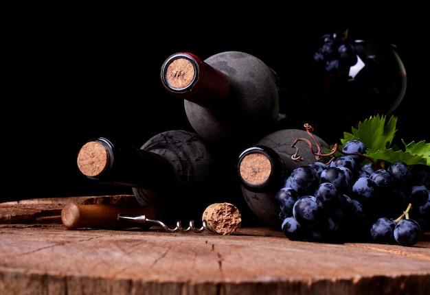 Cave à vin, vendanges de cette année