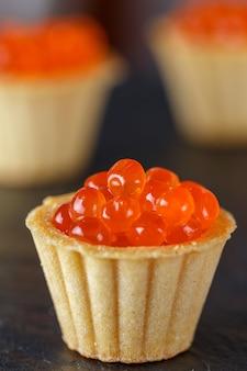 Caviar de saumon rouge