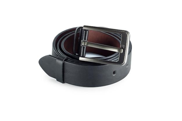 Ceinture ou ceinture noire pour homme isolée