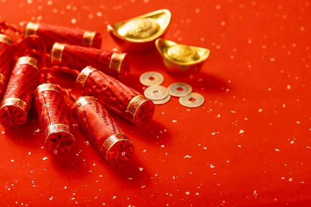 Célébration de l'élément du nouvel an chinois