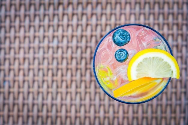 Célébration fond grenadilles boisson tropicale