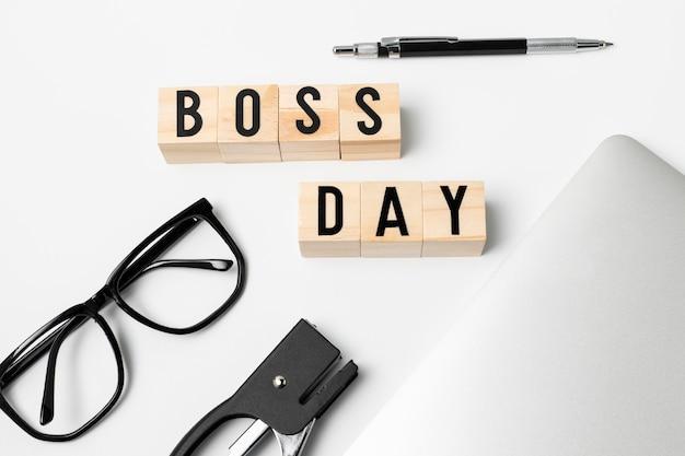 Célébration de la journée du patron vue de dessus
