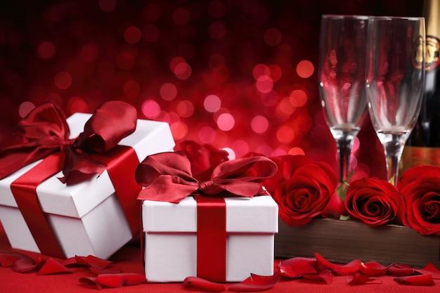 Célébration de la saint-valentin