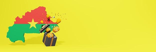 Célébrations d'halloween dans le pays du burkina faso pour augmenter la remise des produits de vente sur le site web