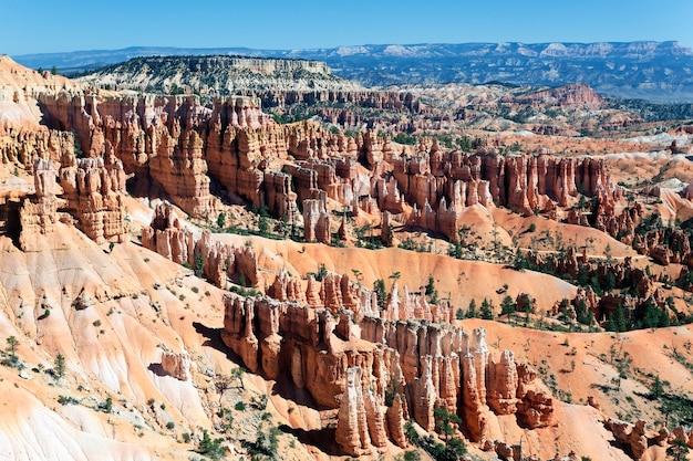 Célèbre amphithéâtre de bryce canyon national park, utah, usa