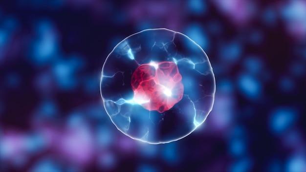 Cellule avec noyau