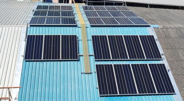 Cellule solaire sur toproof.