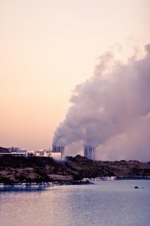 Centrale électrique de la péninsule de reykjanes