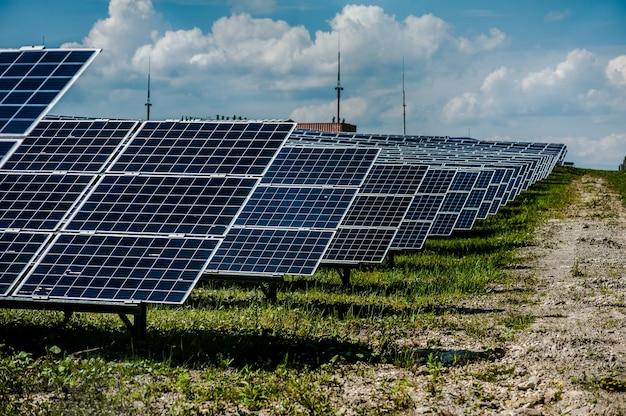 Centrale à énergie solaire