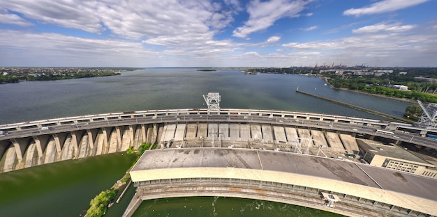 Centrale hydroélectrique du dniepr à zaporozhye