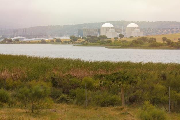 Centrale nucléaire au centre de l'espagne