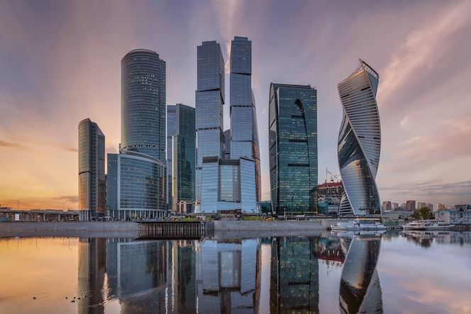 Centre d'affaires international de moscou moscou russie