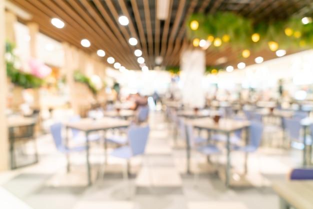 Centre Commercial Flou Abstrait Pour Le Fond Photo Premium