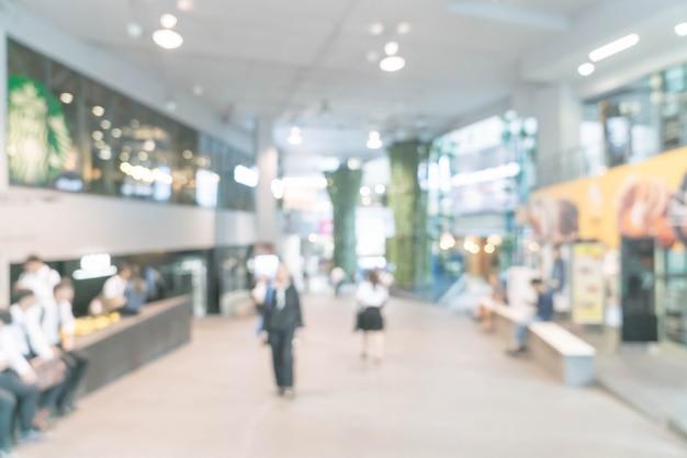 Centre commercial de luxe défocalisé et magasin de détail